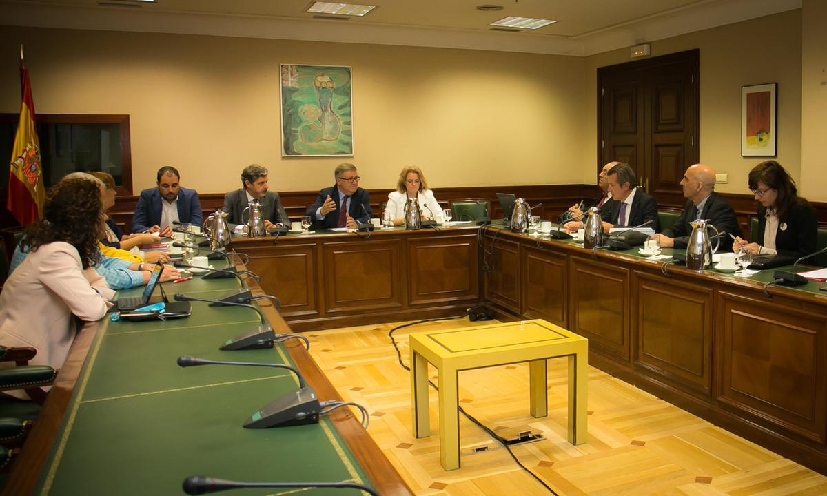 Presentada en el Congreso la plataforma Gasolineras Atendidas y Seguras